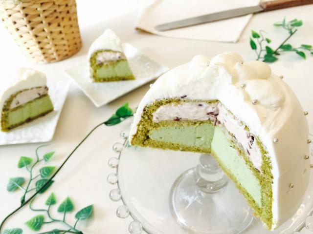 SEOKEY | 復活レッスン 抹茶のドームケーキ