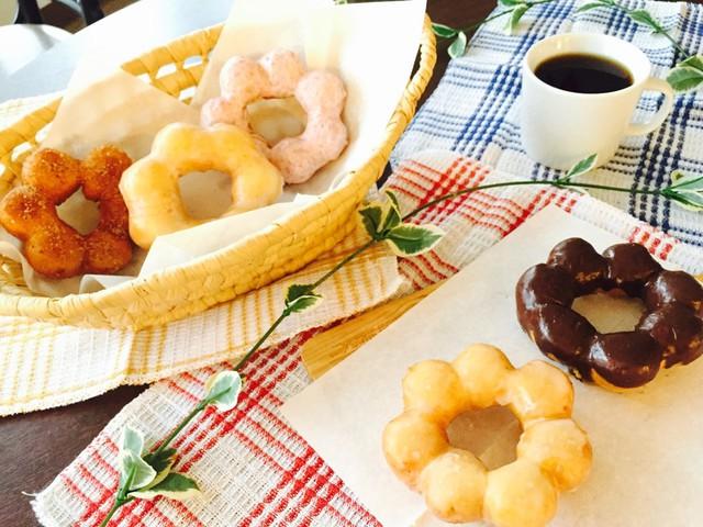 大阪 江坂 料理・天然酵母パン・ケーキ教室 | 復活レッスン ポンデリング風ドーナツ