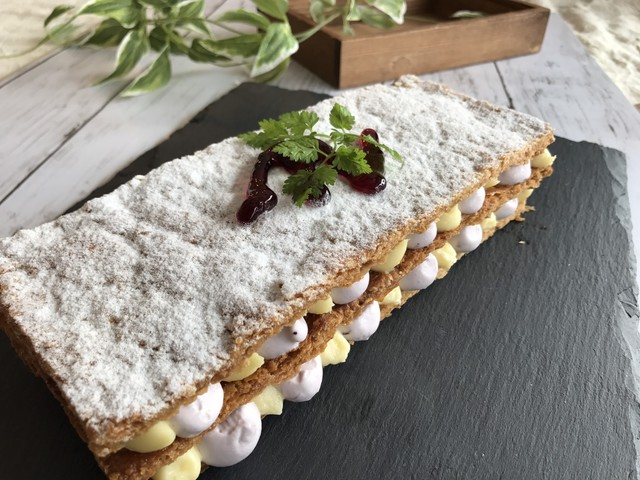 大阪 江坂 料理・天然酵母パン・ケーキ教室 | 特別レッスン ミルフィーユ