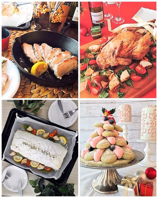 大阪 江坂 料理・天然酵母パン・ケーキ教室 | クリスマススペシャルレッスン