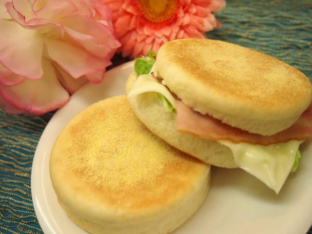 大阪 江坂 料理・天然酵母パン・ケーキ教室 | 復活レッスン イングリッシュマフィン
