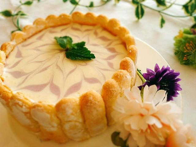 大阪 江坂 料理・天然酵母パン・ケーキ教室 | 特別レッスン シャルロットレアチーズケーキ
