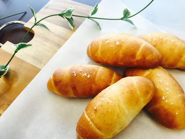 大阪 江坂 料理・天然酵母パン・ケーキ教室 | 復活レッスン 塩バターパン