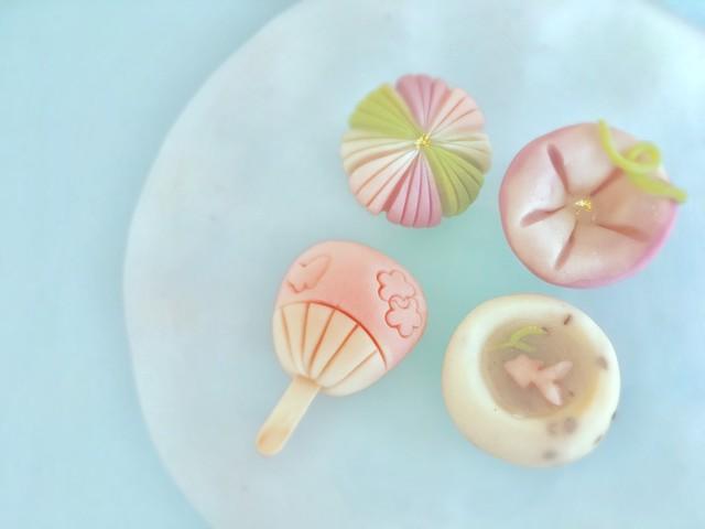 大阪 江坂 料理・天然酵母パン・ケーキ教室 | 特別レッスン 練り切り〜夏〜