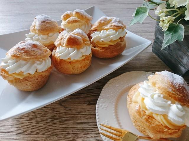 大阪 江坂 料理・天然酵母パン・ケーキ教室 | 復活レッスン シュークリーム