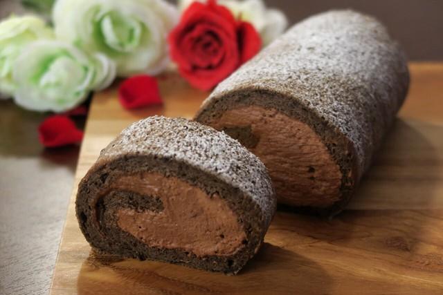 大阪 江坂 料理・天然酵母パン・ケーキ教室 | 復活レッスン 生チョコロール