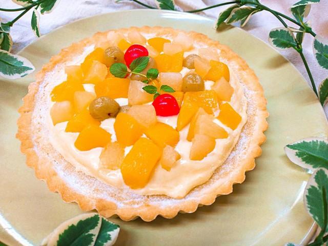 大阪 江坂 料理・天然酵母パン・ケーキ教室 | 復活レッスン フルーツタルト