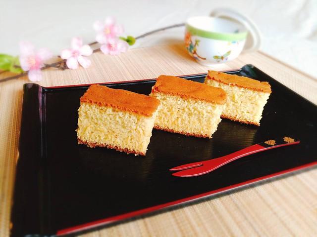 大阪 江坂 料理・天然酵母パン・ケーキ教室 | 特別レッスン 新聞紙の型で作る大きなカステラ