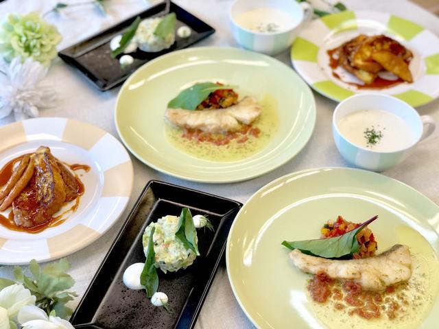 大阪 江坂 料理・天然酵母パン・ケーキ教室 | 第二回おうちフレンチ