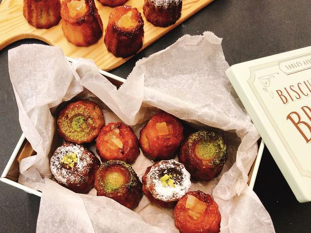 大阪 江坂 料理・天然酵母パン・ケーキ教室 | 特別レッスン 3種のカヌレ