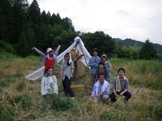 京都で有機農法・自然農法による野菜作りと生産技術開発 | ライ麦刈りイベント in 胡麻 2012